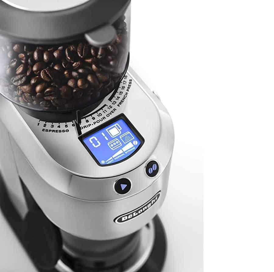 آسیاب قهوه دیجیتال Dedica - KG521M