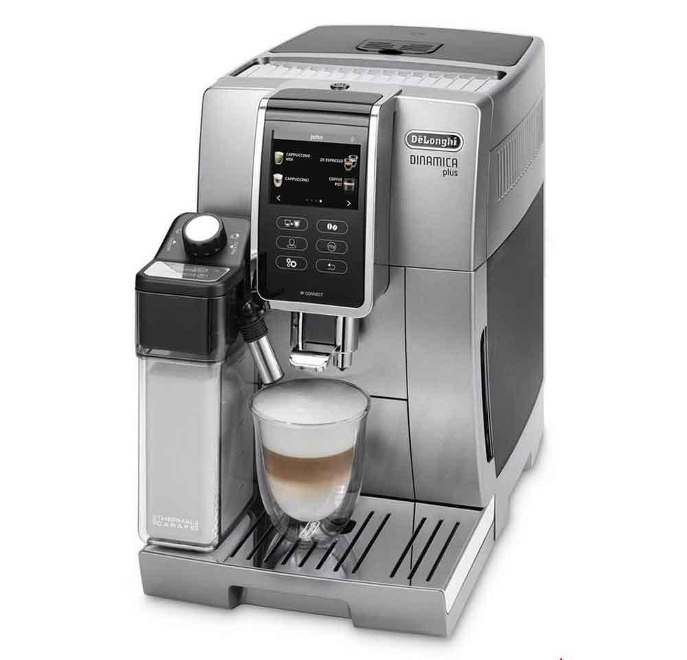 اسپرسو ساز دلونگی ایتالیا De Longhi Kaffeevollautomat Dinamica Plus ECAM 370 95 S