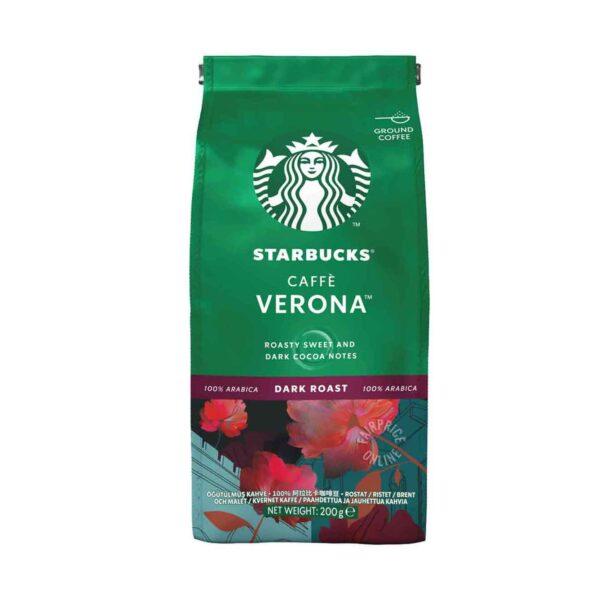 STARBUCKS Caffe Verona - قهوه ساییده شده تیره تیره