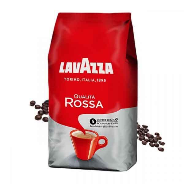 قهوه دان لاواتزا مدل Rossa مقدار 1 کیلوگرم