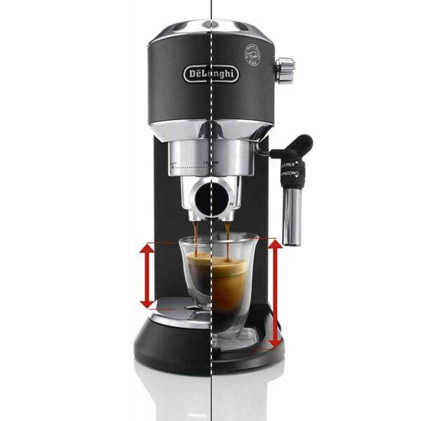 Dedica Pump Espresso - Black EC 685.BK