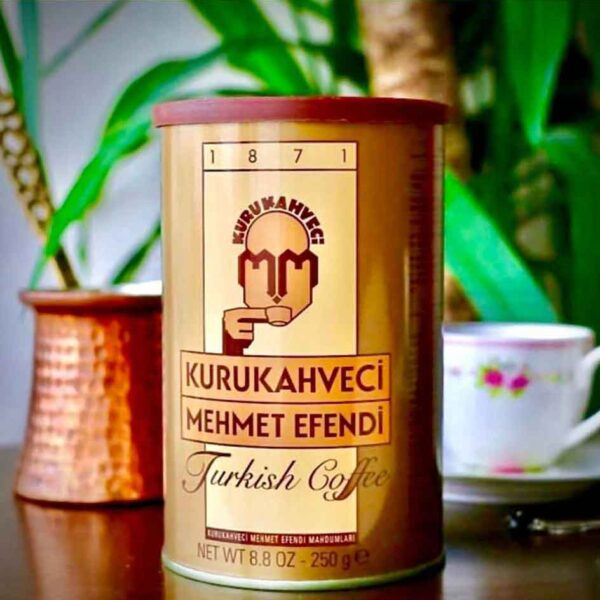 قهوه مهمت افندی مدل کلاسیک ۲۵۰ گرمی