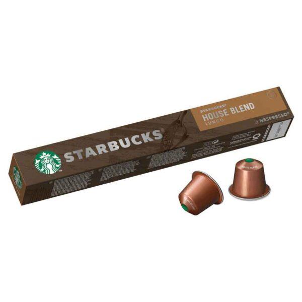 کپسول قهوه استارباکس هاوس بلند (House Blend)