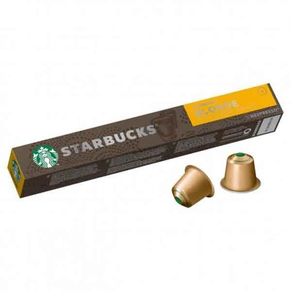 کپسول قهوه نسپرسو استارباکس Starbucks مدل بلوند ۱۰ عددی
