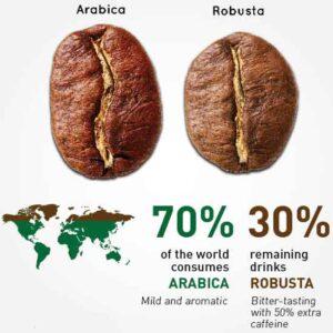 تفاوت روبوستا و عربیکا